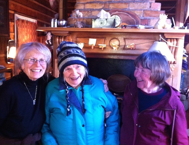 Lois Webster, Sue Bulmer, Lena Bulmer