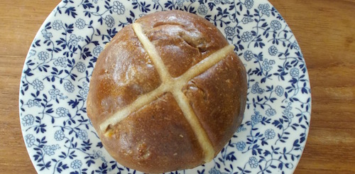 Champion hot cross buns
