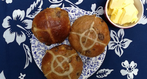 Happy hot cross bun day