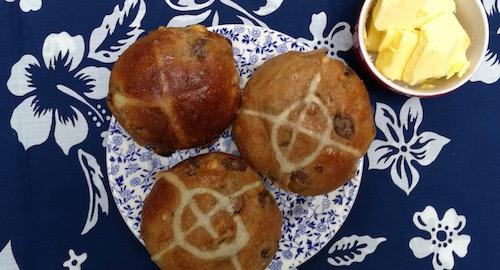 Celtic Kitchen hot cross buns