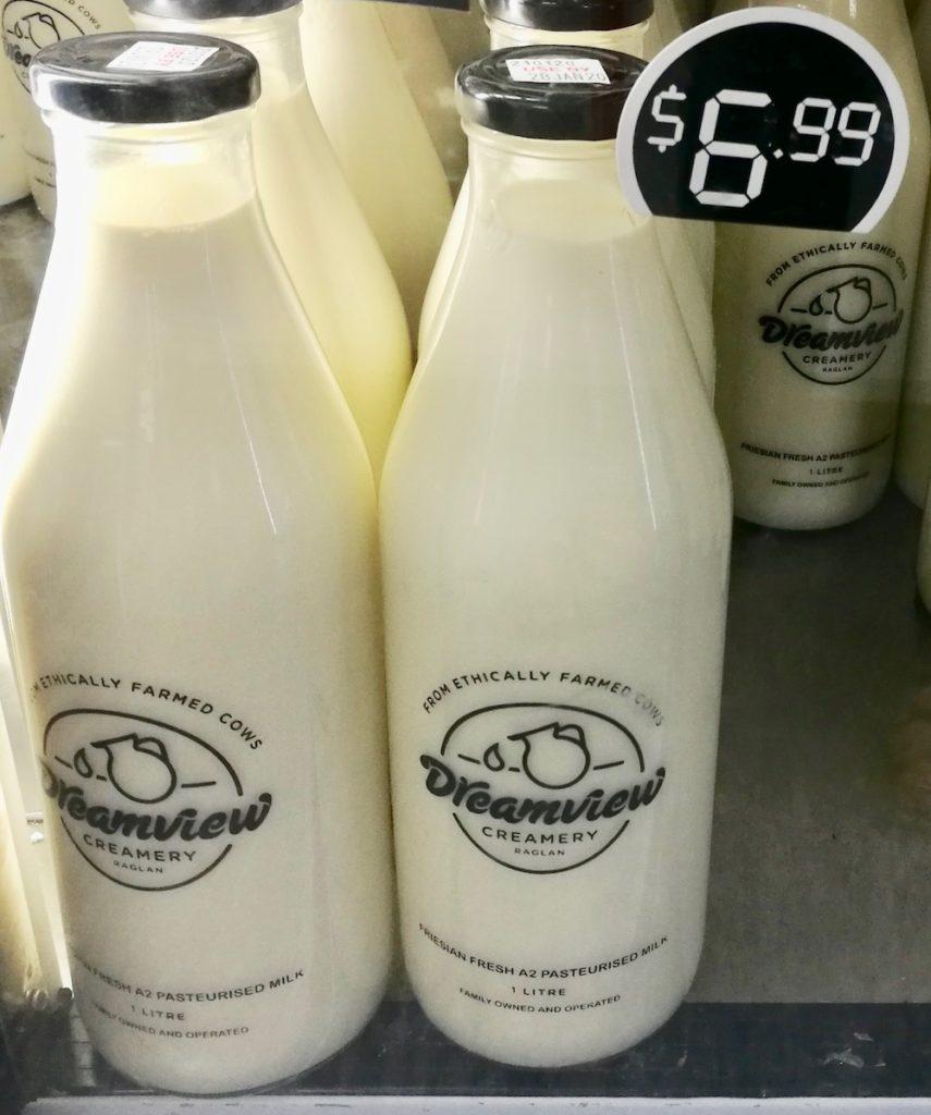 Dreamview Creamery milk